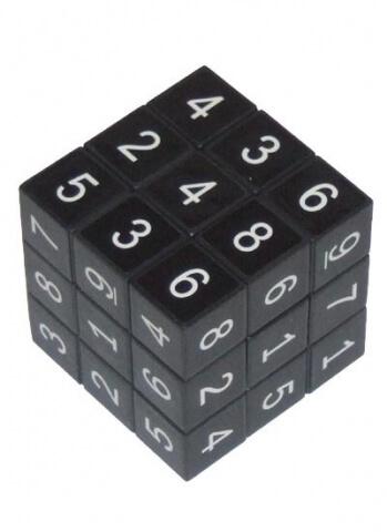 Kostka sudoku černá