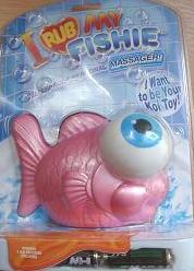 Masážní rybička růžová