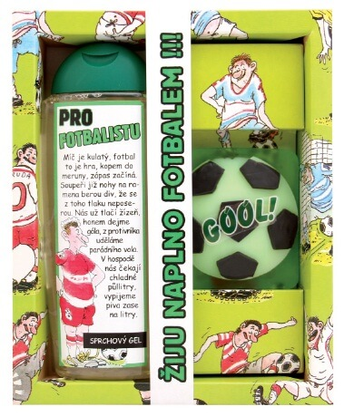 Kosmetický balíček pro fotbalistu