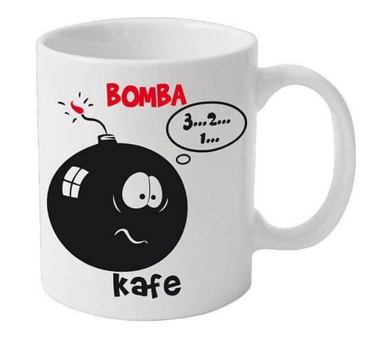 Obří hrnek - Bomba kafe