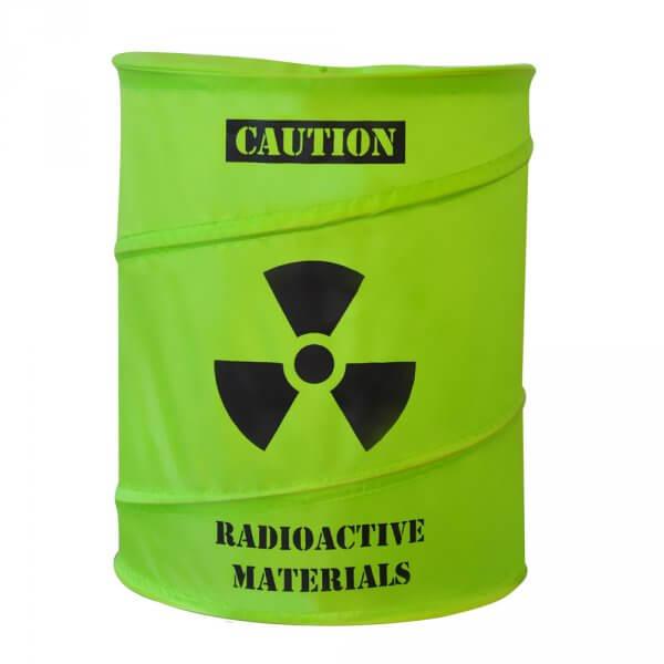 Radioaktivní koš na prádlo
