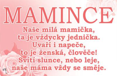 přání mamince k 50 narozeninám Vtipné přání   Mamince | Dárkoviny.cz   vtipné dárky pro muže a ženy přání mamince k 50 narozeninám
