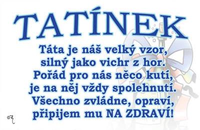 přání pro tatínka k narozeninám Vtipné přání   Tatínek | Dárkoviny.cz   vtipné dárky pro muže a ženy přání pro tatínka k narozeninám