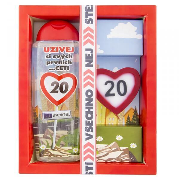 Kosmetický balíček - Vše nejlepší 20