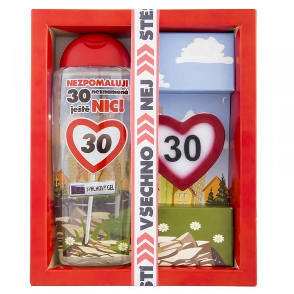 Kosmetický balíček - Vše nejlepší 30