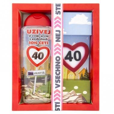 Kosmetický balíček - Vše nejlepší 40