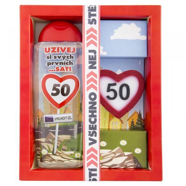 Kosmetický balíček - Vše nejlepší 50