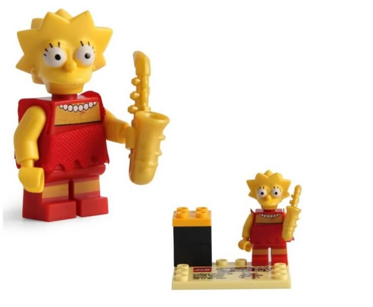 Figurka Lisa Simpson