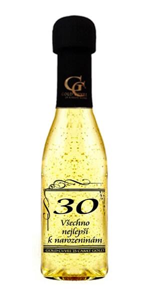 Levně Šumivé víno se zlatem - 30 let