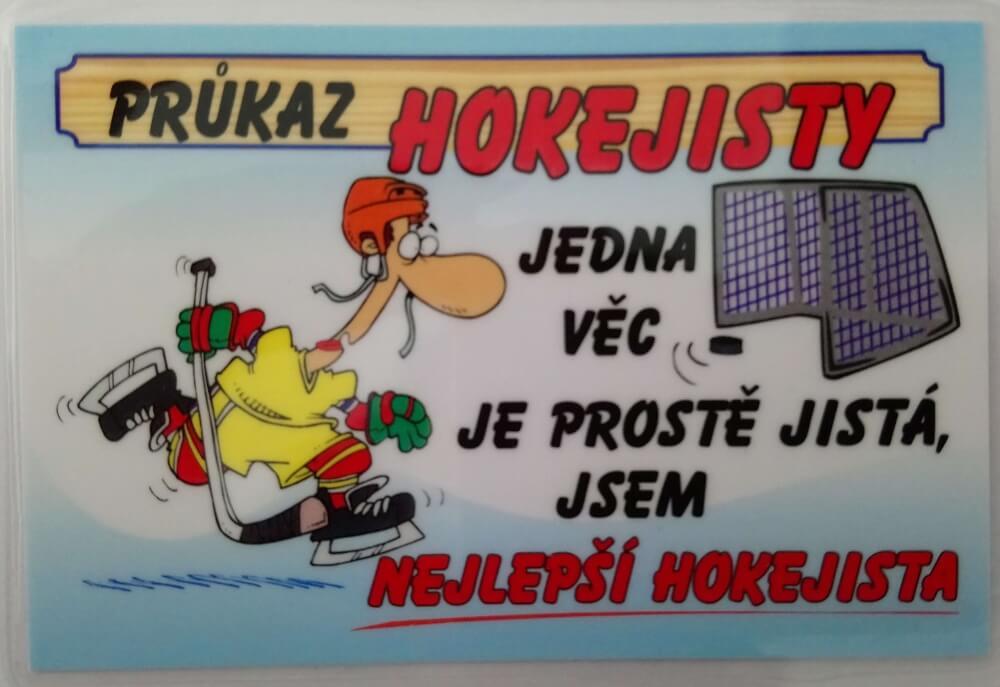 Levně Průkaz - Hokejista
