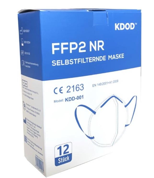 Respirátor FFP2 20ks
